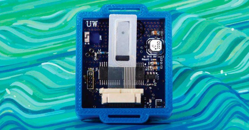 objet connecté qui se recharge grâce aux ondes radio
