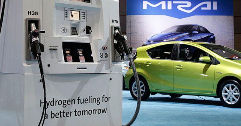 Toyota Mirai, voiture à hydrogène