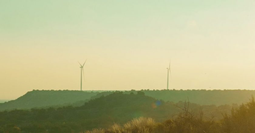 Texas et l'énergie éolienne