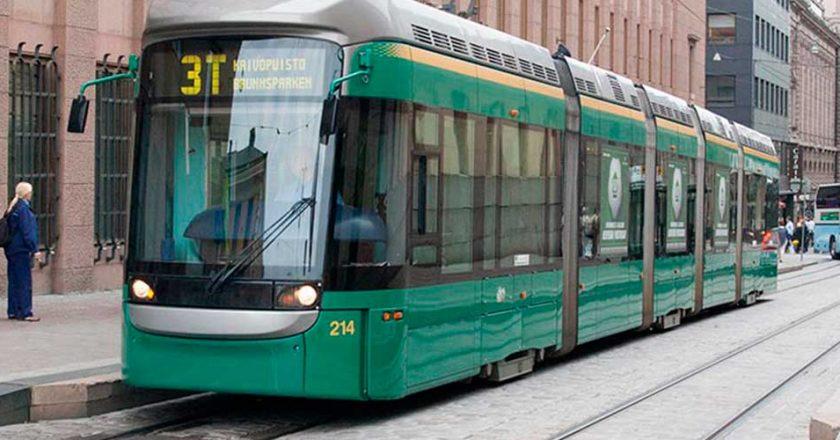 Les transports en commun à Helsinki